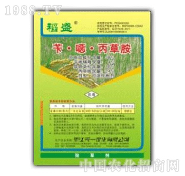 天一-38%苄�f丙草胺(稻盛)WP