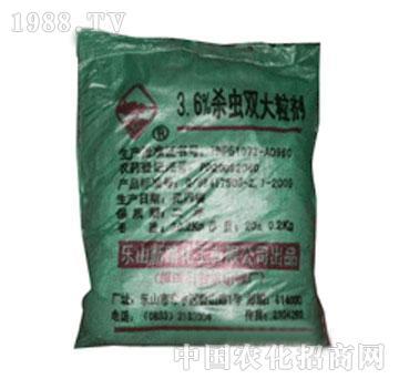 新路-3.6%杀虫双大粒剂