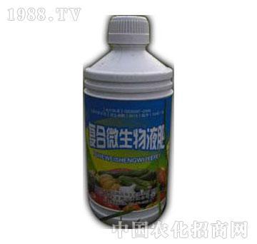 中科沃龙-复合微生物有机液肥