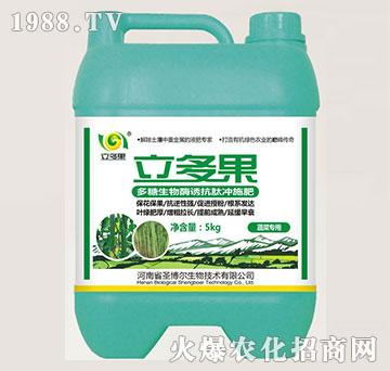 香蕉专用叶面肥-多糖生物酶诱抗肽-立多果-圣博尔