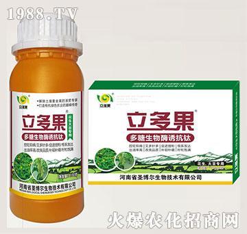 花生大豆专用叶面肥-多糖生物酶诱抗肽-立多果-圣博尔