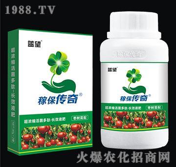 枣树专用超浓缩活菌多肽-长效液肥-稼保传奇-蓝望