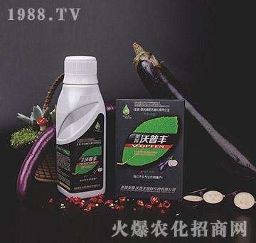茄子专用氨基松脂菌露母液叶面肥-沃普丰
