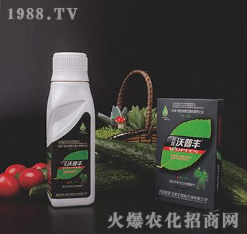 黄瓜专用氨基松脂菌露母液叶面肥-沃普丰