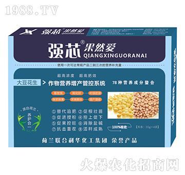 大豆花生用强芯果然爱叶面肥-强芯国际
