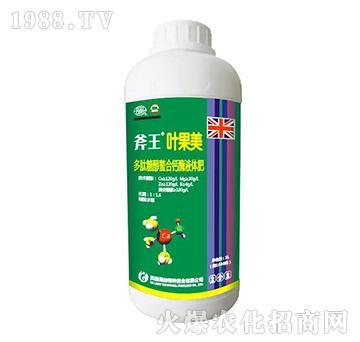 多肽糖醇螯合钙酶液体肥-斧王叶果美-嘉之宝