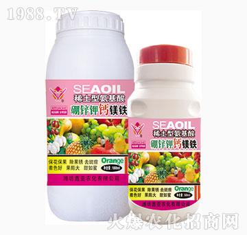 稀土型氨基酸-硼锌钾钙镁铁-鑫亚