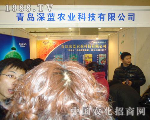 青岛深蓝农业-2011河北肥料会招商展位