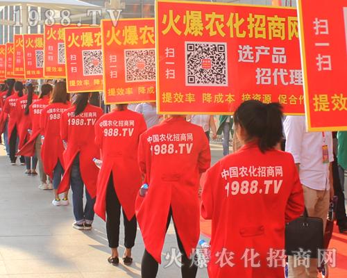 农化人在2016南宁农资博览会上谱出美丽乐章