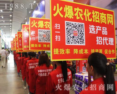 农化宣传人员用无畏的精神亮相于2016南宁农资会