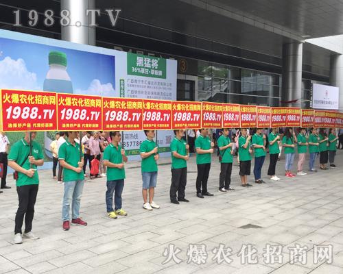 1988.TV在2017南宁农资会上成为风景