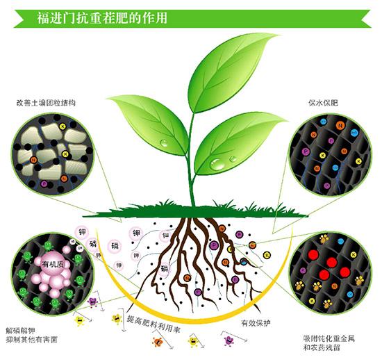 福进门抗重茬复合生物菌肥3