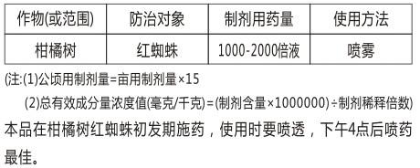 24.5%阿维・矿物油-天发化工