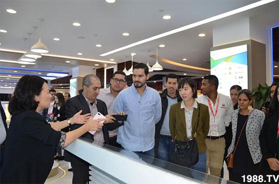 携手合作 谱写新篇 ――哥伦比亚企业代表团一行参观访问西郊国际