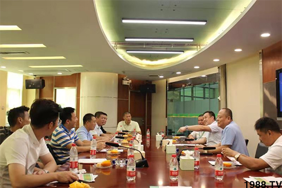 上海辉展果蔬批发市场考察团来访