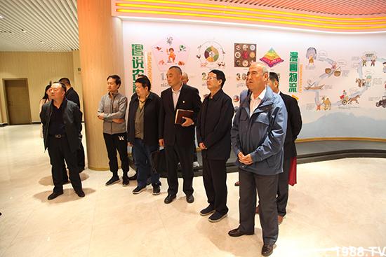 新疆维吾尔自治区领导莅临万邦国际集团考察调研