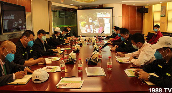 江南市场管理部组织学习复工复产消防公开课