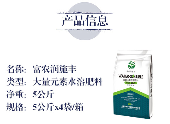 大量元素水溶肥料20-20-20+TE-富农润施丰_02