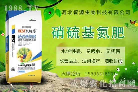 什么是硝硫基氮肥?有什么作用?硝硫基氮肥怎么使用?