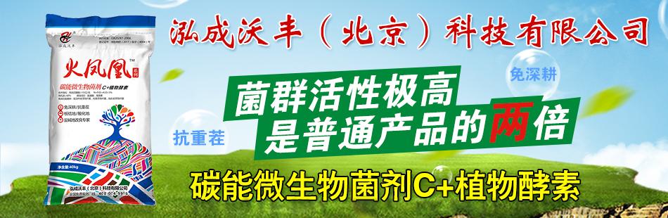 泓成沃丰(北京)科技有限公司
