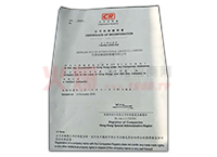 公司注冊證明書-諾爾生物技術有限公司