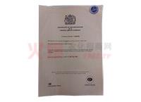公司注册证书-英国力格国际集团有限公司