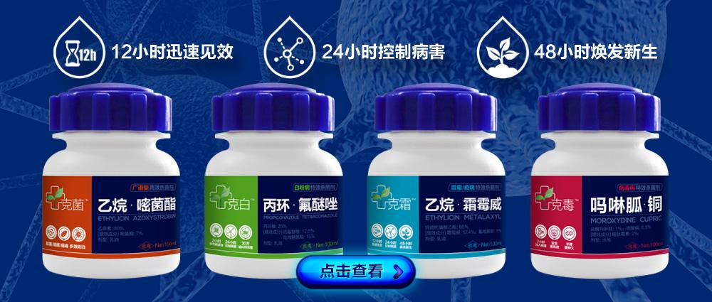 80%乙烷・嘧菌酯-克菌(广谱型杀菌剂)-帕尔奇