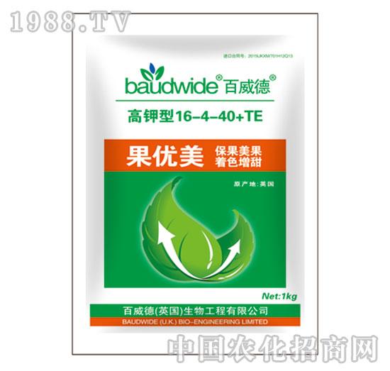 果优美高钾型16-4-40+TE-百威德
