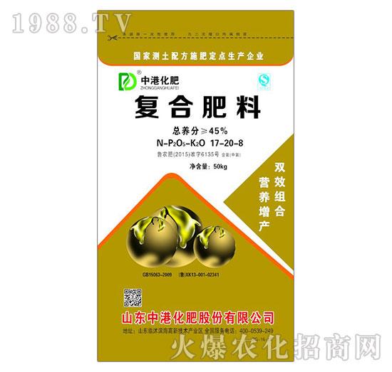 复合肥料17-20-8-中港化肥