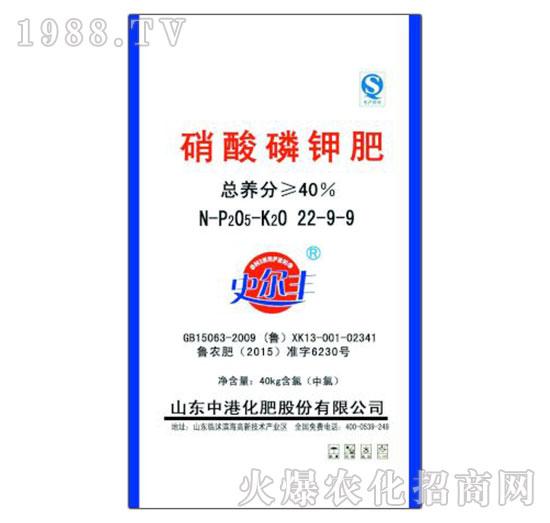 硝酸磷钾肥22-9-9-史尔丰-中农国控