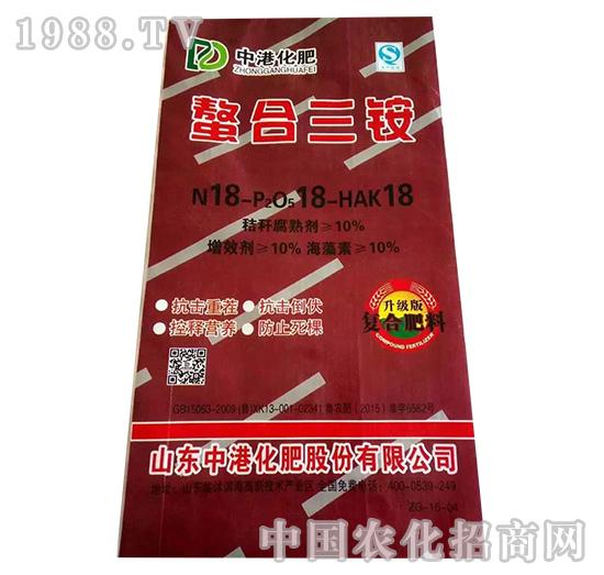 螯合三铵18-18-18-益生源