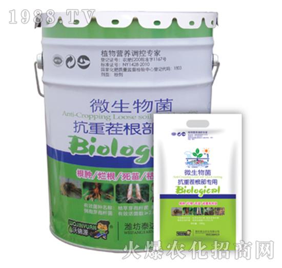 微生物菌抗重茬根部专用-泰达农化