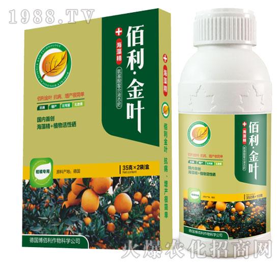 柑橘专用-佰利・金叶-博佰利