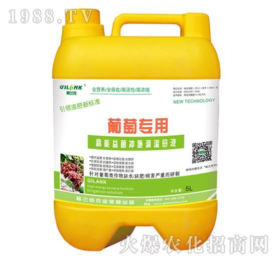 葡萄专用高能益菌冲施滴灌母液-格兰克