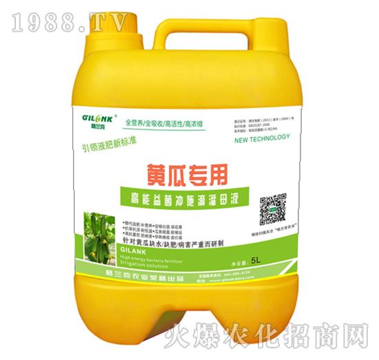 黄瓜专用高能益菌冲施滴灌母液-格兰克