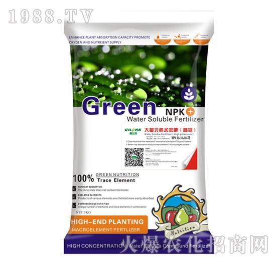 高氮型大量元素水溶肥30-10-10+TE-格兰克