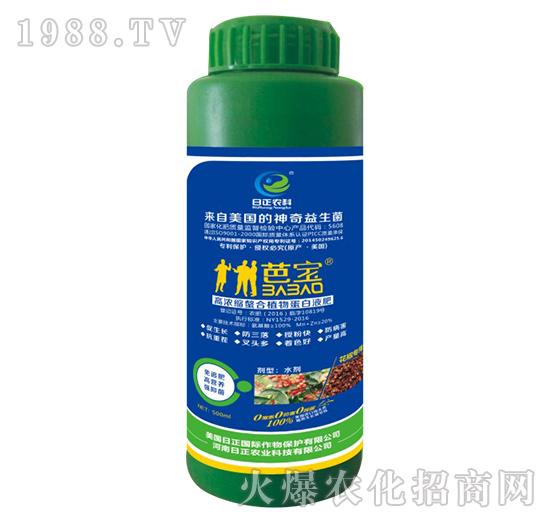 花椒专用-高浓缩螯合植物蛋白液肥-日正农科