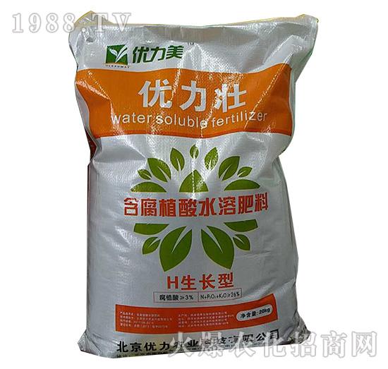 优力壮含腐植酸水溶肥料-优力美-优力农业