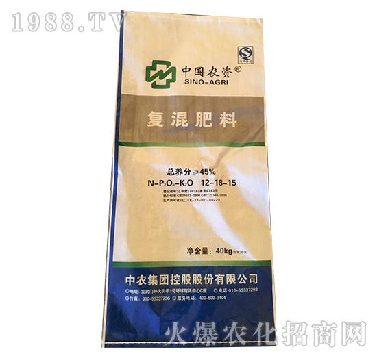 复混肥料12-18-15-益生源