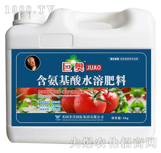 番茄专用冲施肥-含氨基酸水溶肥料-巨奥