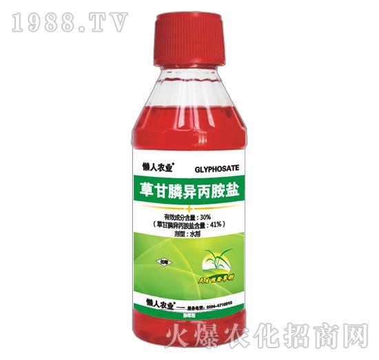 30%草甘膦异丙胺盐(瓶)-懒人农业