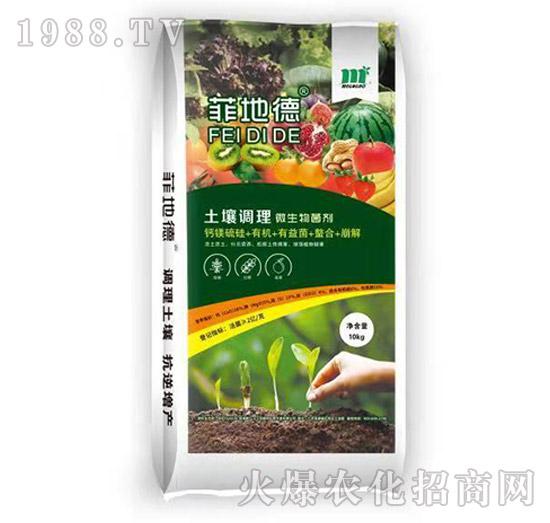 土壤调理微生物菌剂-菲地德