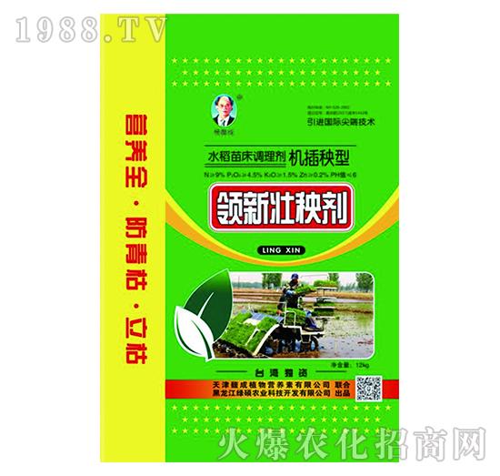 机插秧型水稻苗床调理剂-领新壮秧剂-馥成
