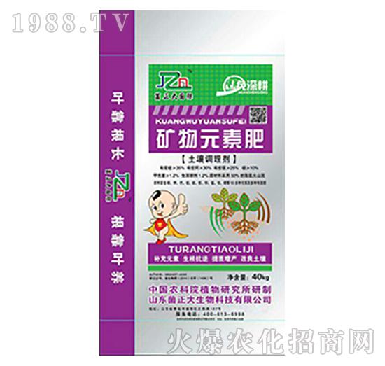 矿物元素肥(土壤调节剂)-菌正大