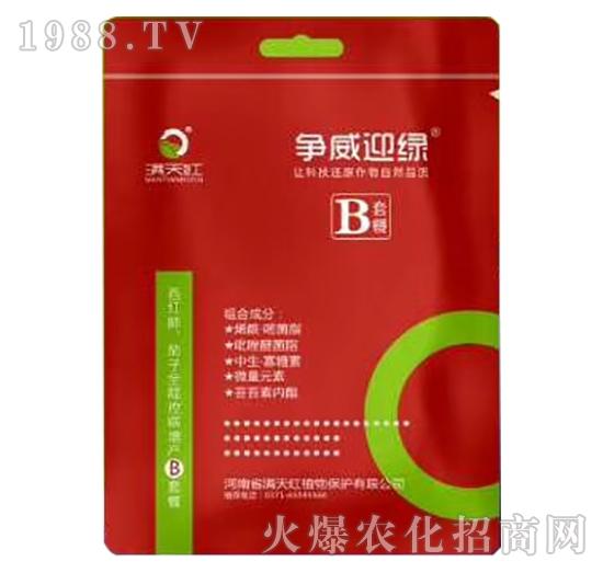 全程控病增产解决方案B-争威迎绿-满天红