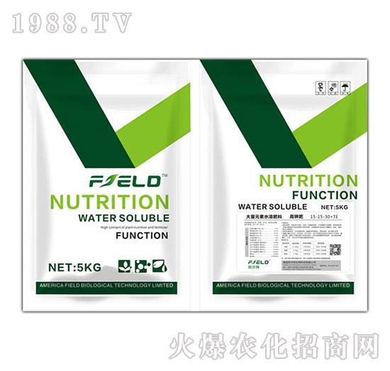高钾肥大量元素水溶肥15-15-30+TE-菲尔特