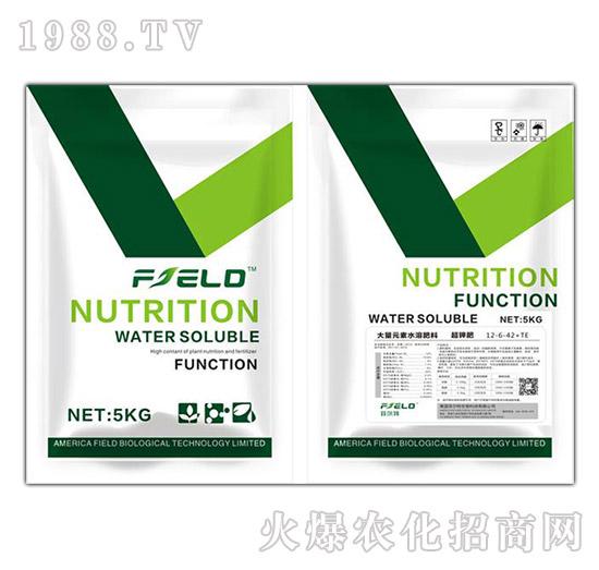 超钾肥大量元素水溶肥12-6-42+TE-菲尔特