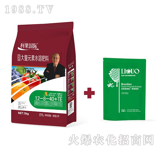 高�型大量元素水溶肥12-8-40+TE-利果���H