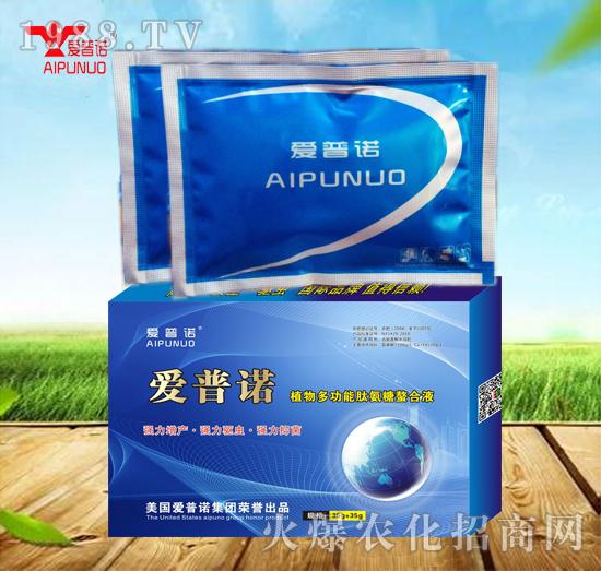 植物多功能肽氨糖螯合液(35g+35g)-爱普诺