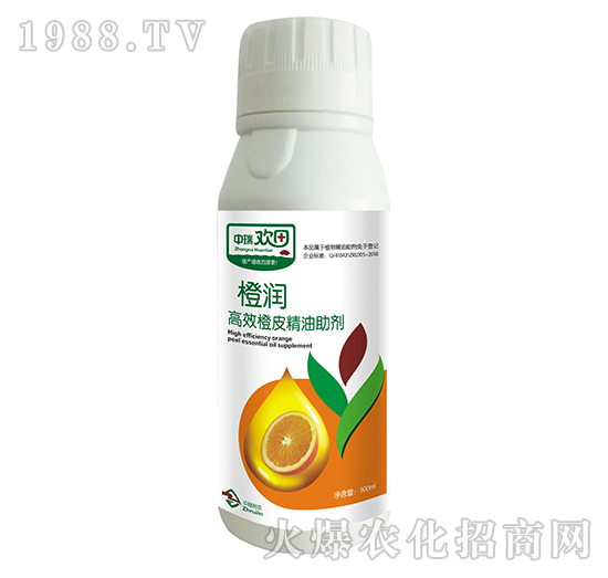 高效橙皮精油助剂-橙润-中瑞利农